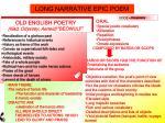 long narrative epic poem