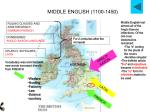 middle english 1100 1450