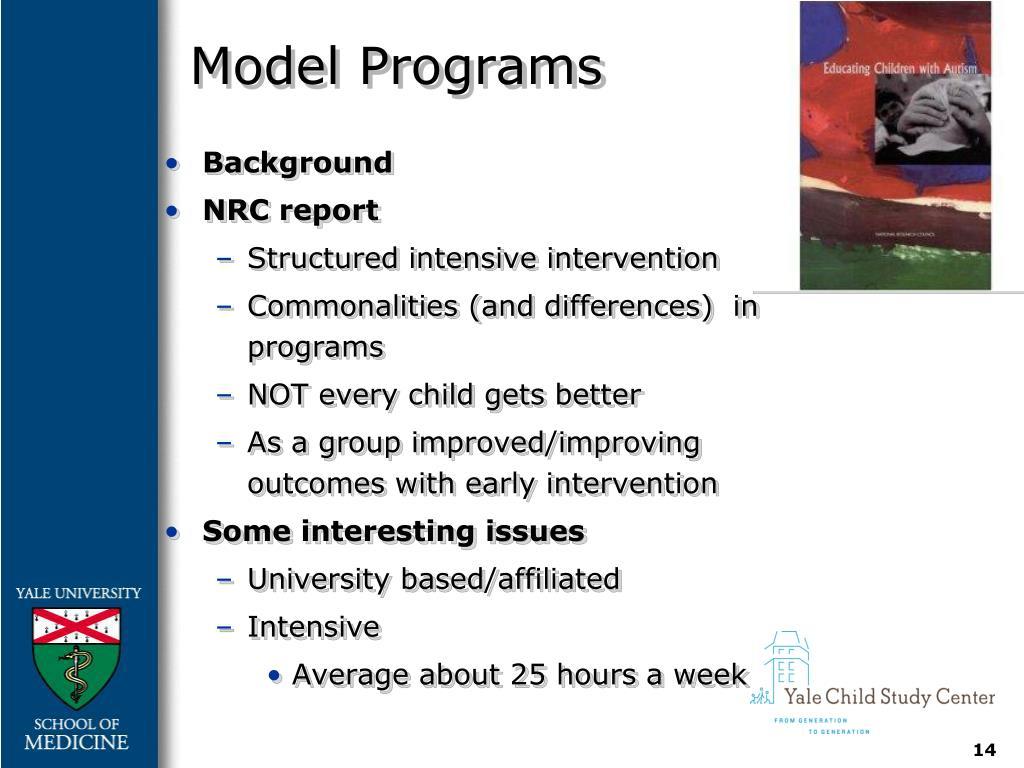 Model Programs