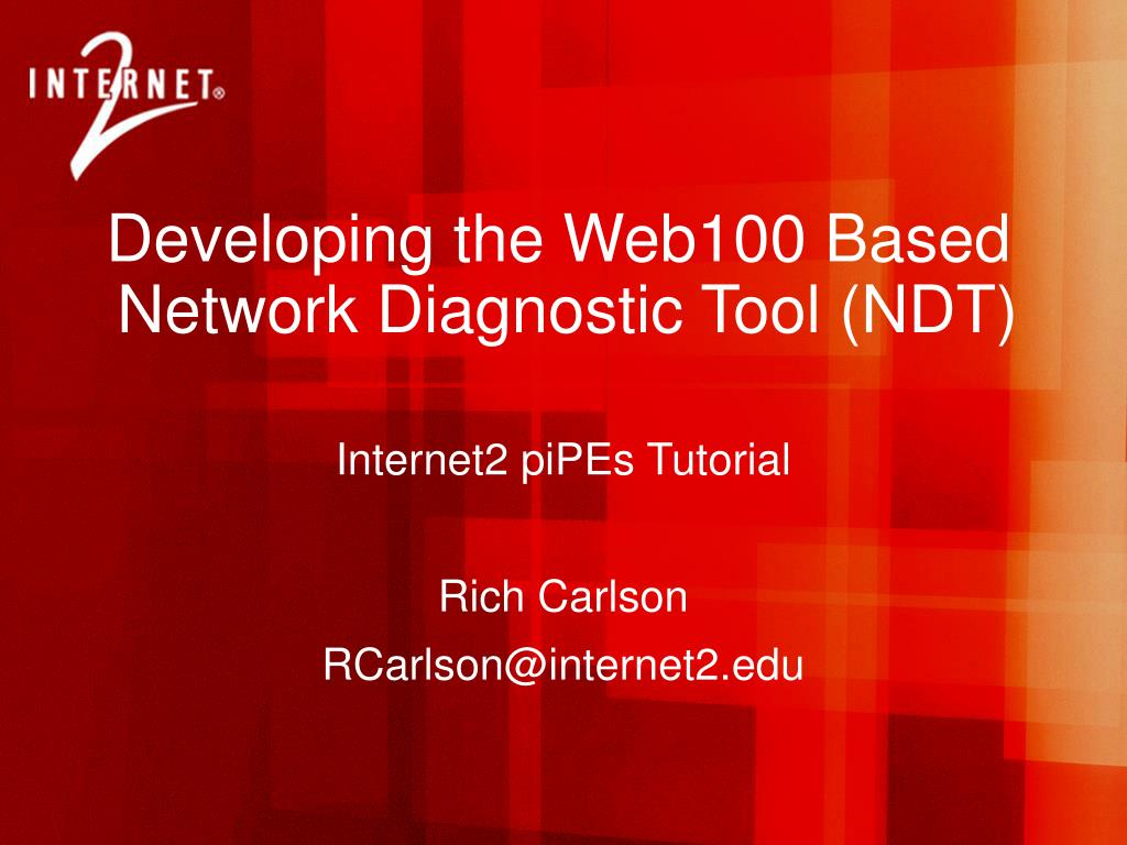 Developing the Web100 Based