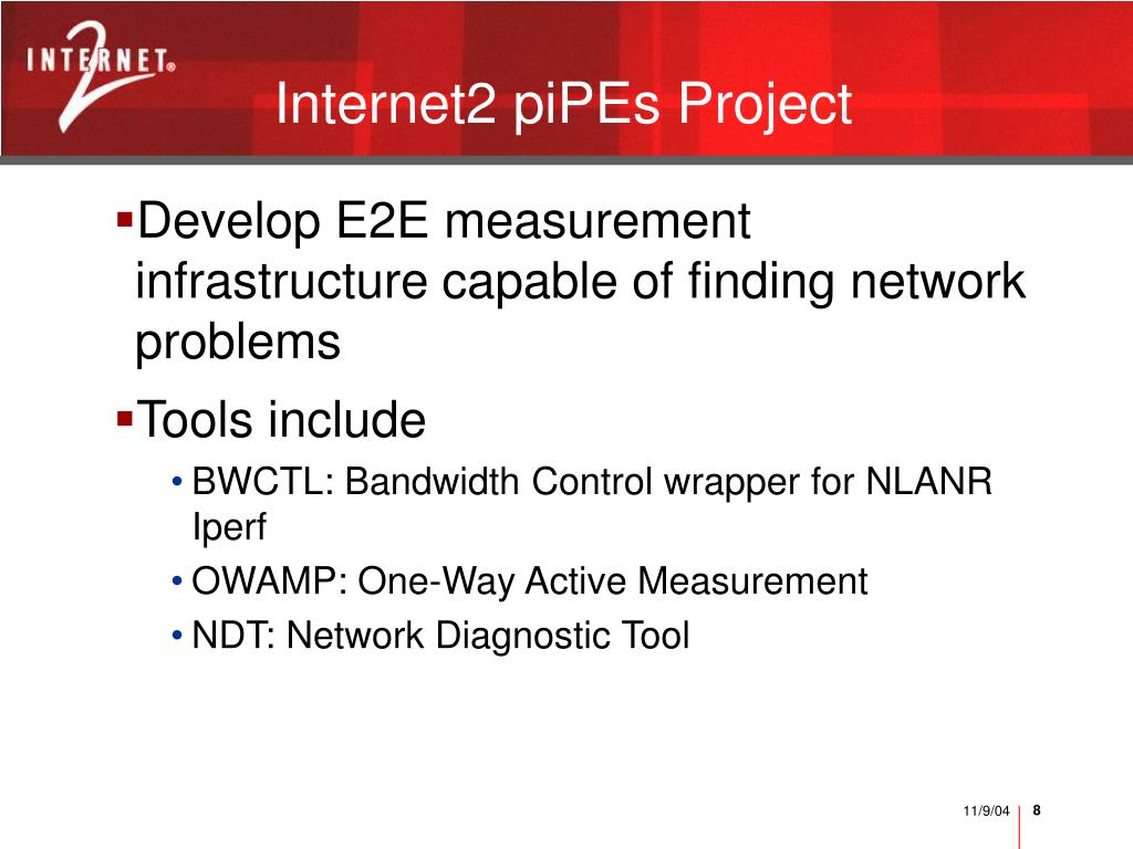 Internet2 piPEs Project