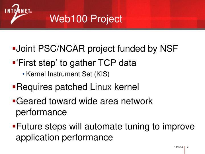 Web100 project