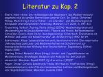 literatur zu kap 2