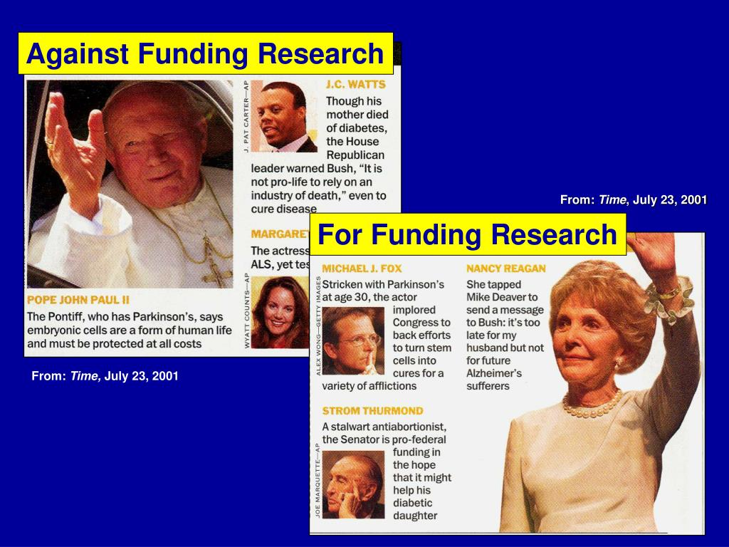 Against Funding Research
