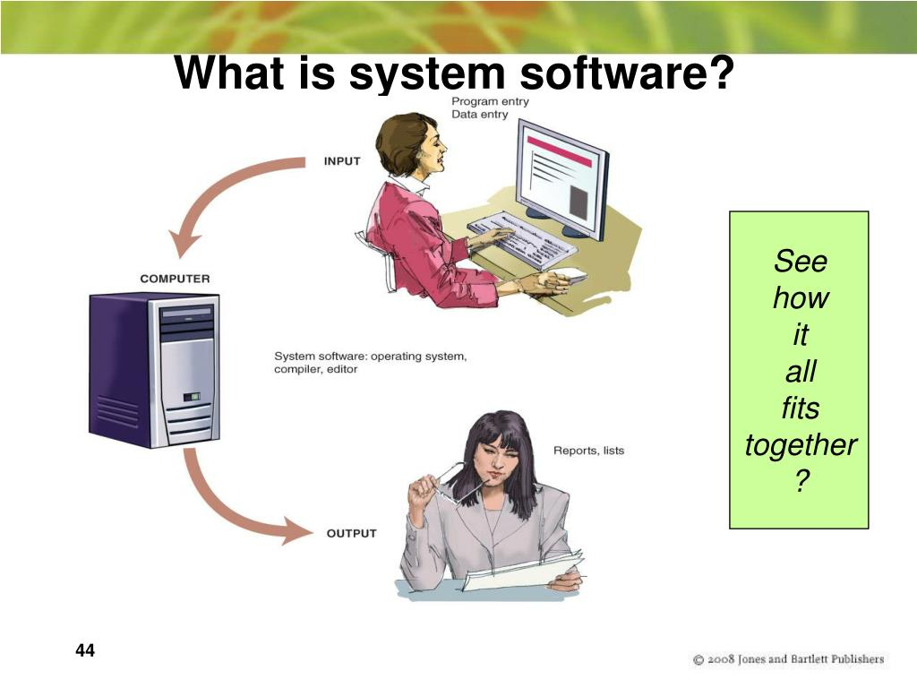 What is system software?