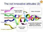 the not innovative attitudes 2