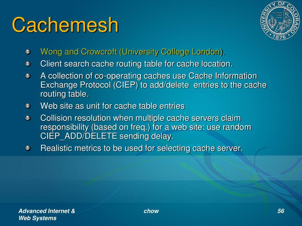 Cachemesh