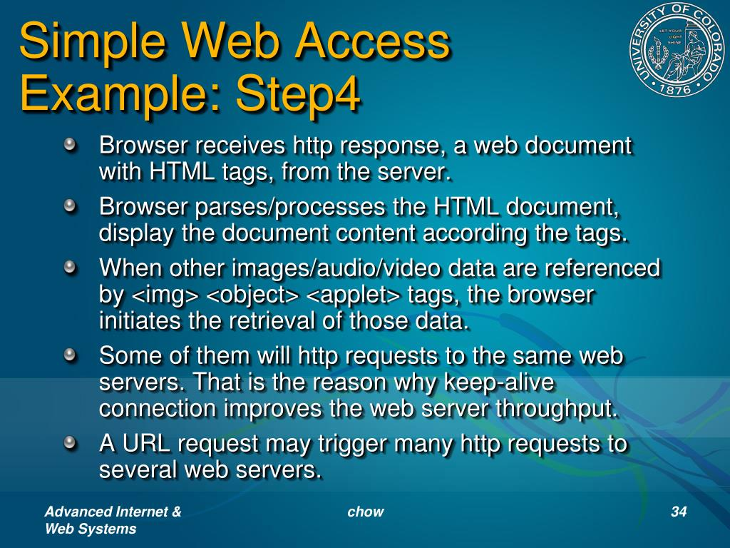 Simple Web Access Example: Step4