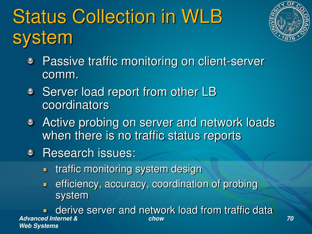 Status Collection in WLB system
