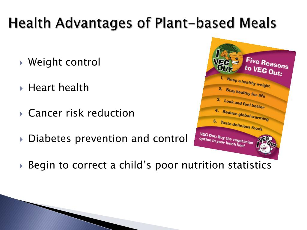 Health Advantages of Plant-based Meals