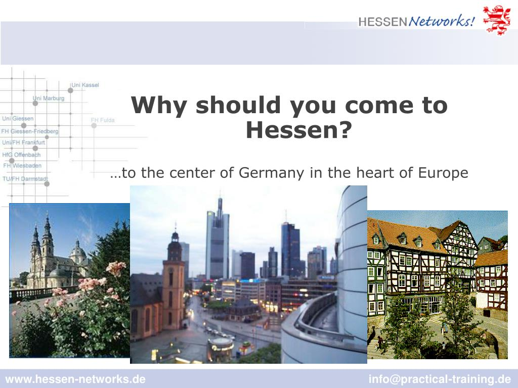 Why should you come to Hessen?