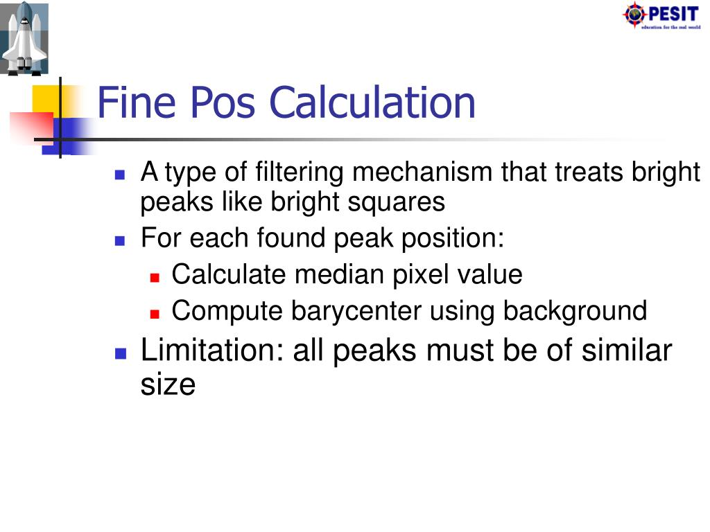 Fine Pos Calculation