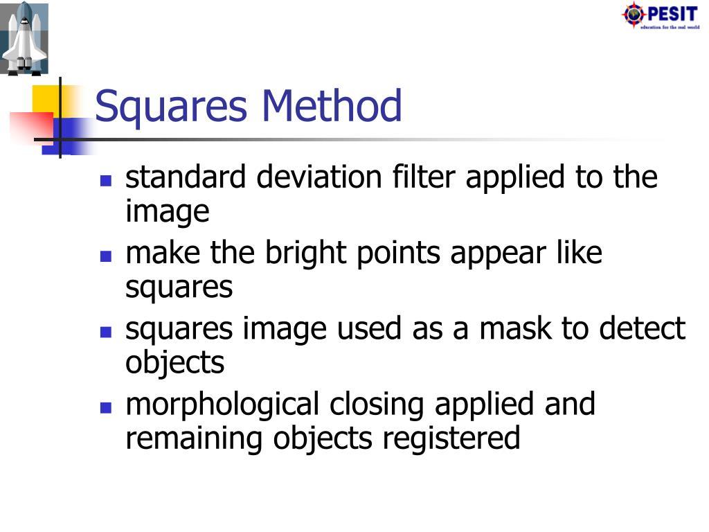 Squares Method
