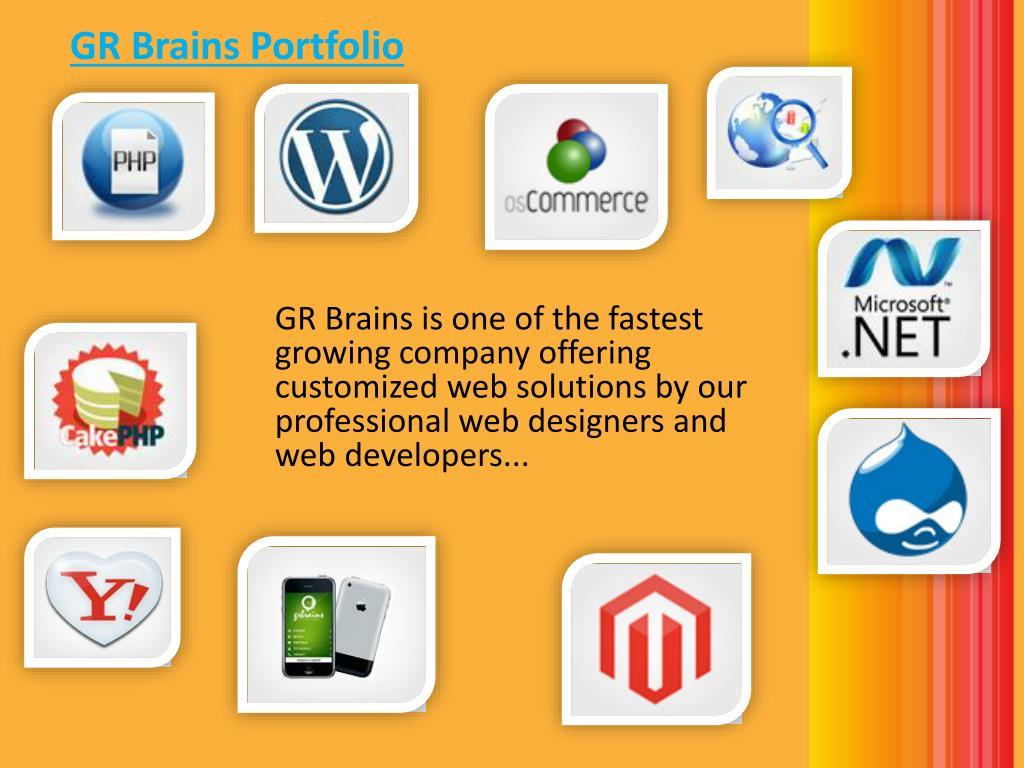 GR Brains Portfolio