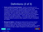 definitions 2 of 3