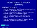 environmental water demands29