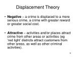 displacement theory34