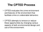 the cpted process