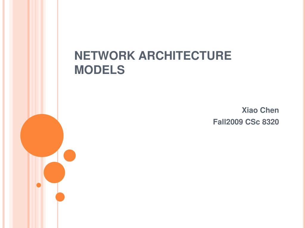 network architecture models l.