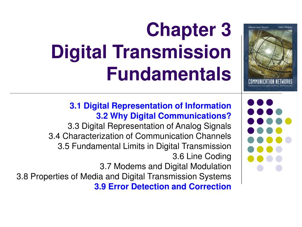 chapter 3 digital transmission fundamentals l.