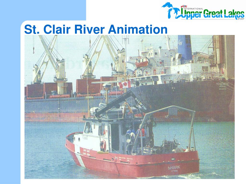 St. Clair River Animation