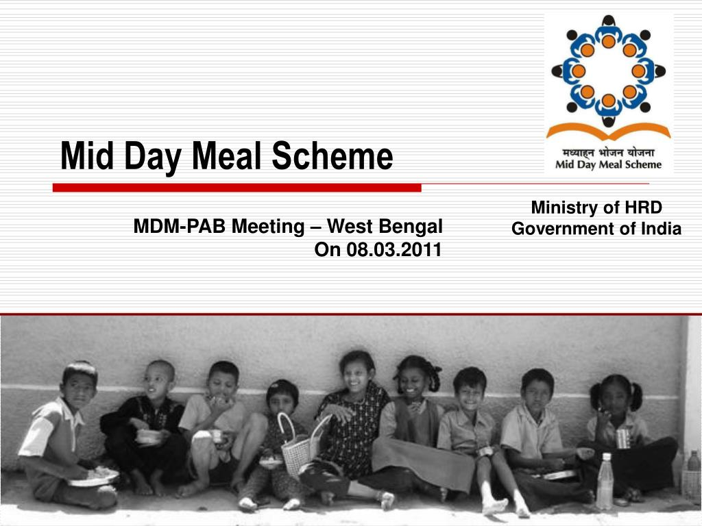 mid day meal scheme l.