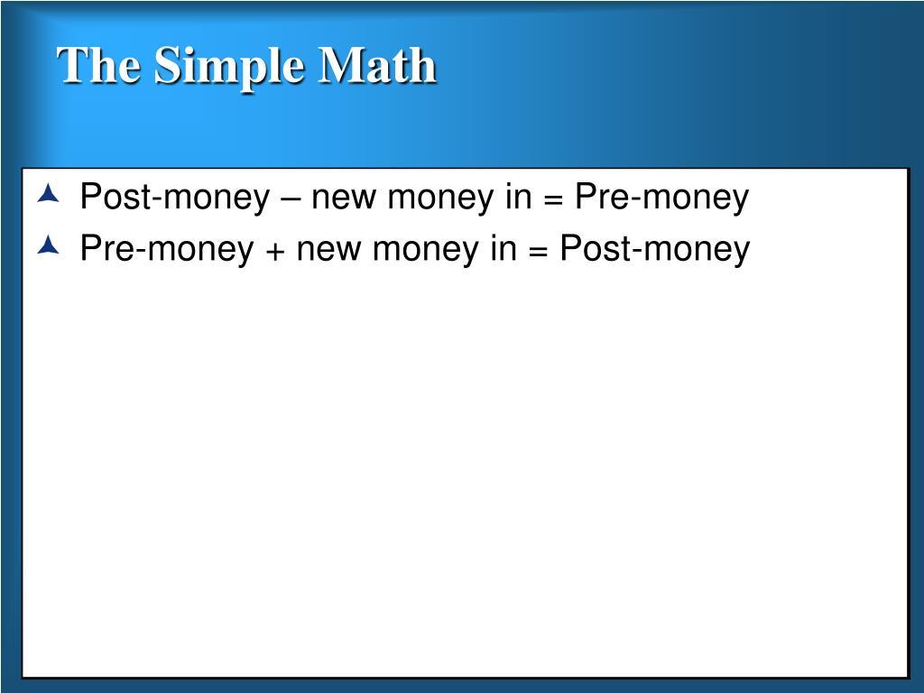 The Simple Math