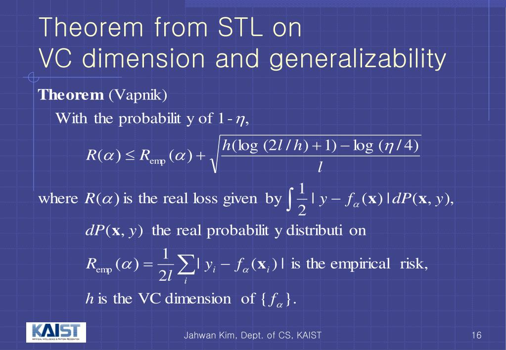 Theorem from STL on