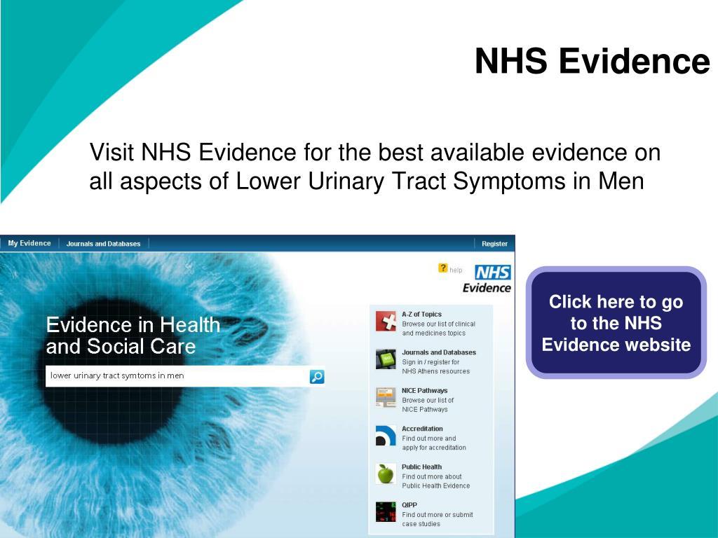 NHS Evidence