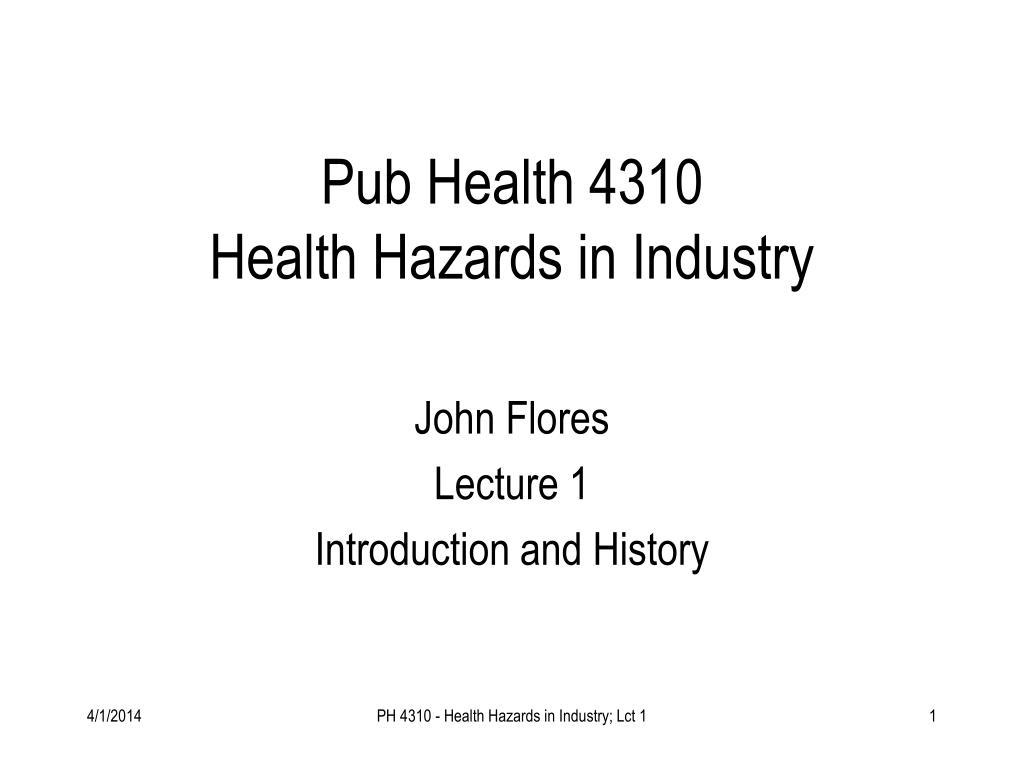 Pub Health 4310