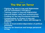 figure 11 the war on terror