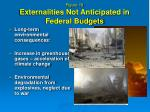 figure 19 externalities not anticipated in federal budgets