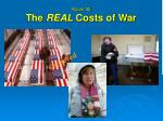 figure 32 the real costs of war