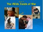 figure 33 the real costs of war