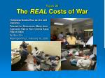 figure 35 the real costs of war