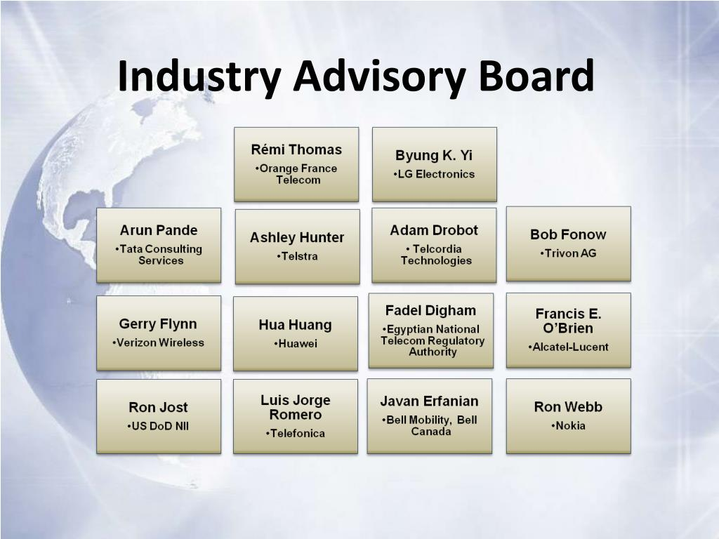 Industry Advisory Board