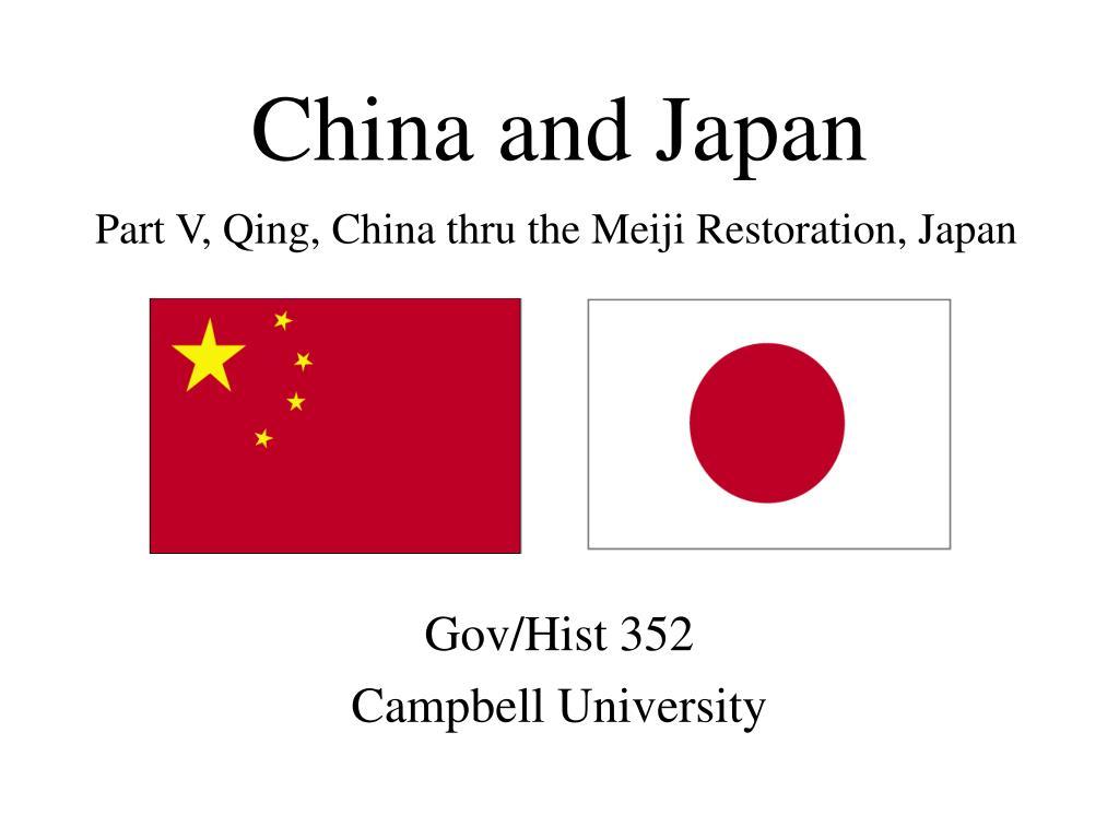 china and japan l.