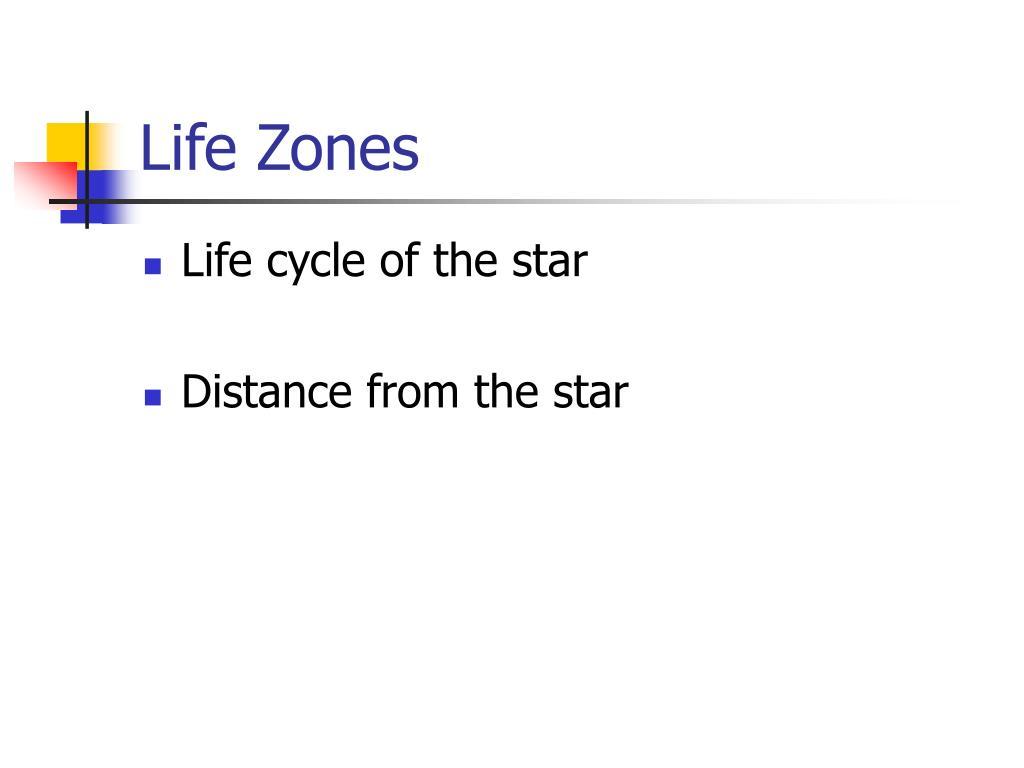 Life Zones