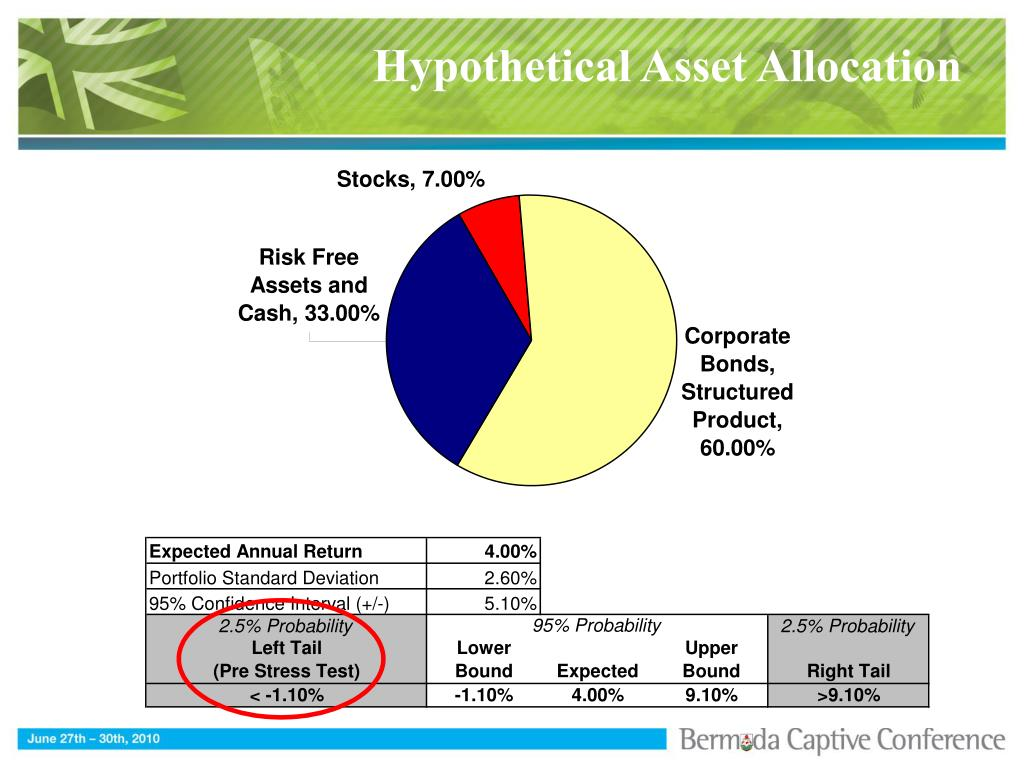 Hypothetical Asset Allocation