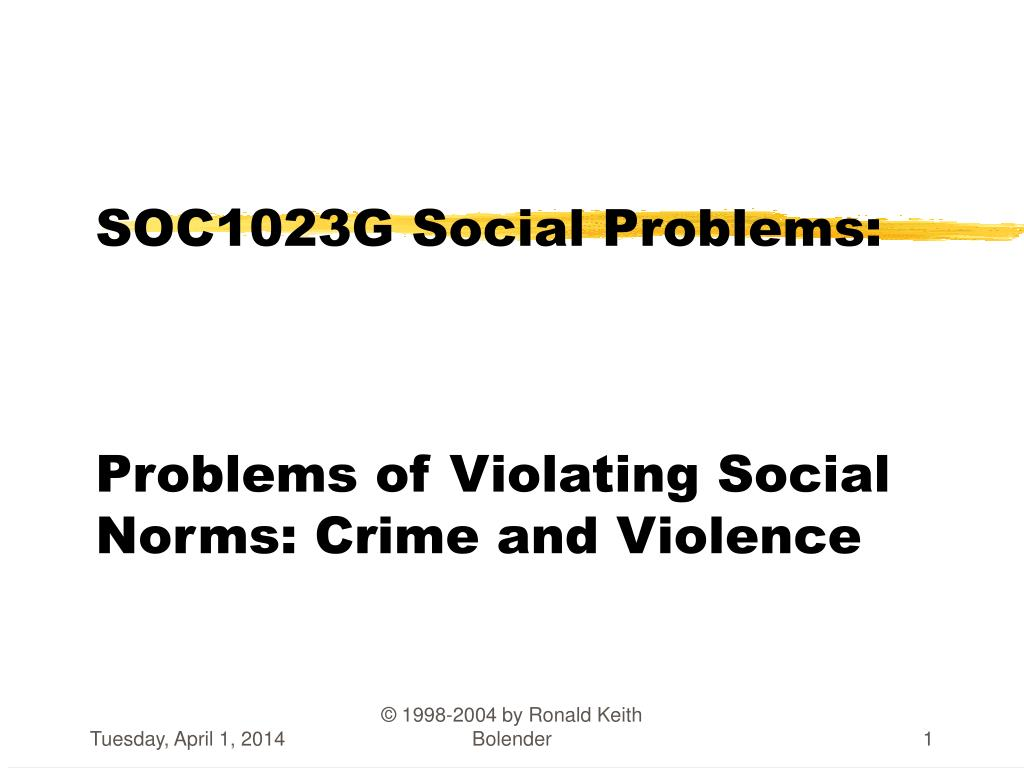 crime as a major social problem in the society ‍read more about poverty and crime effects of poverty on society  poverty is a major cause of social tensions and threatens to divide a nation because of the.