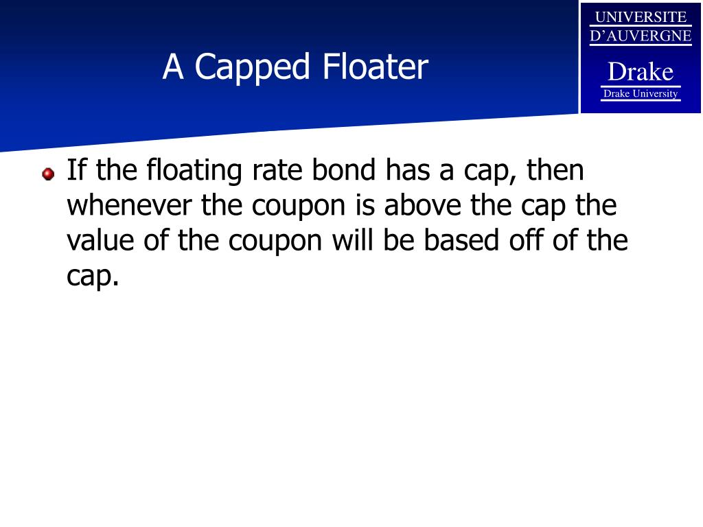 A Capped Floater