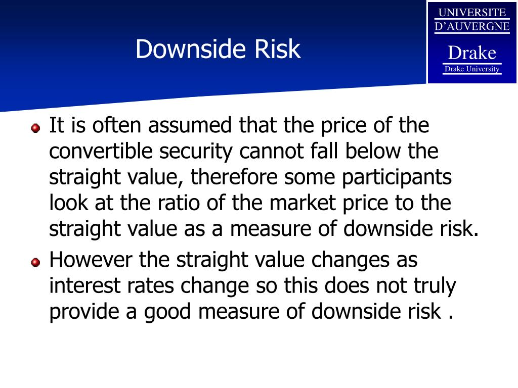 Downside Risk