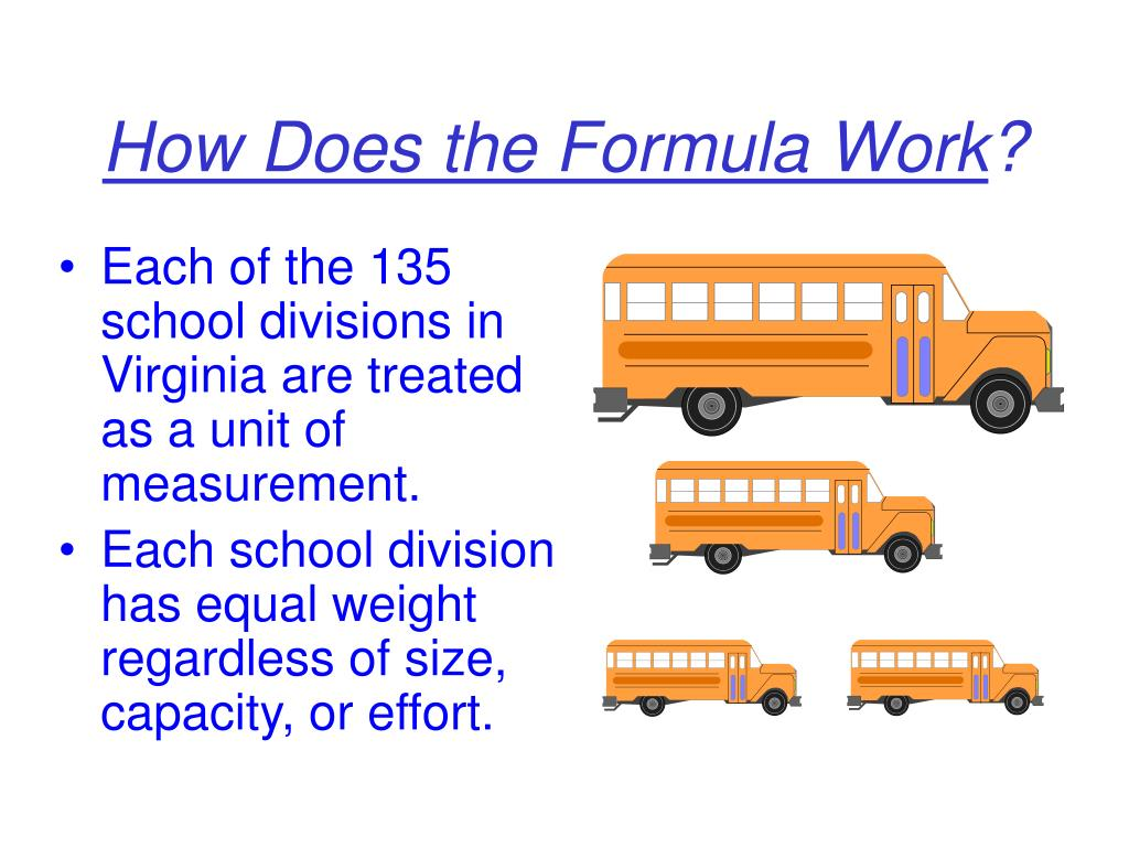 Each of the 135 school divisions in Virginia are treated as a unit of measurement.