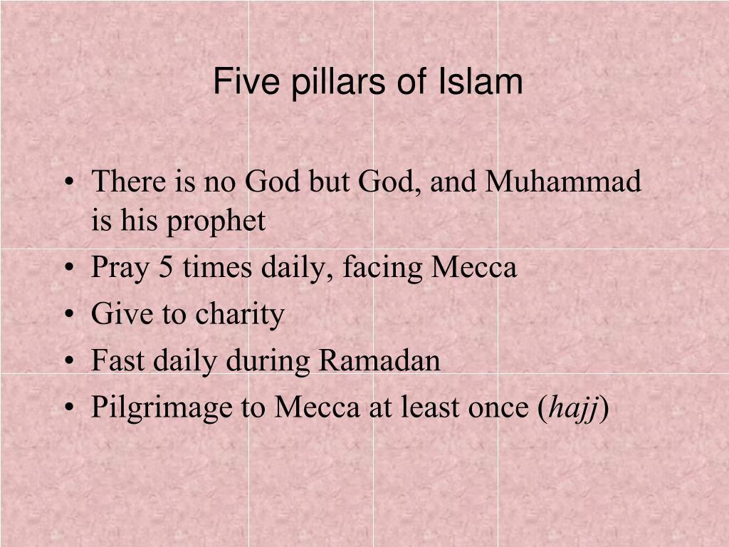 Five pillars of Islam