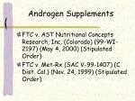 androgen supplements