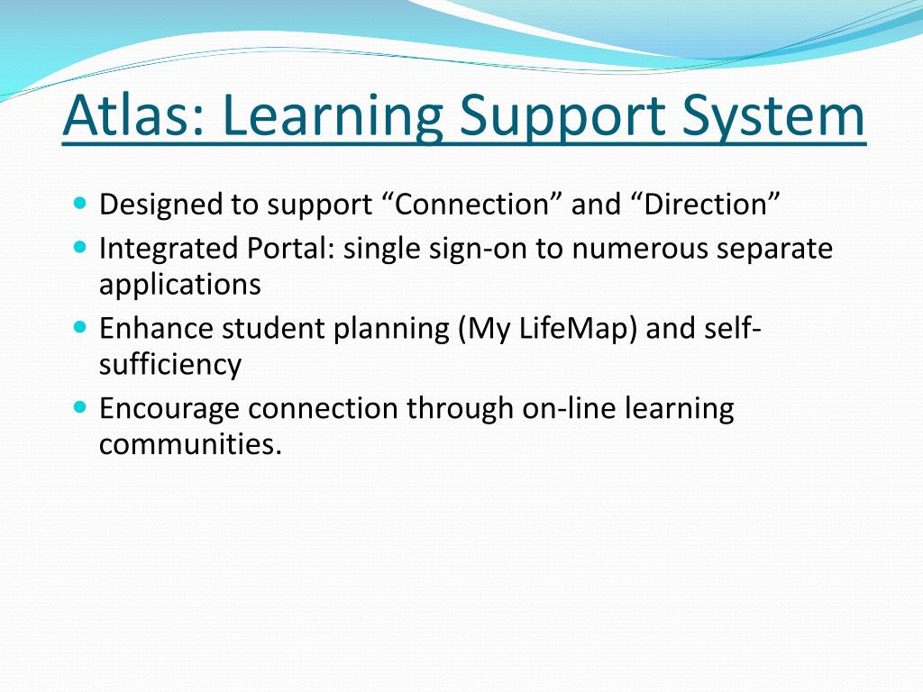 Atlas: Learning Support System