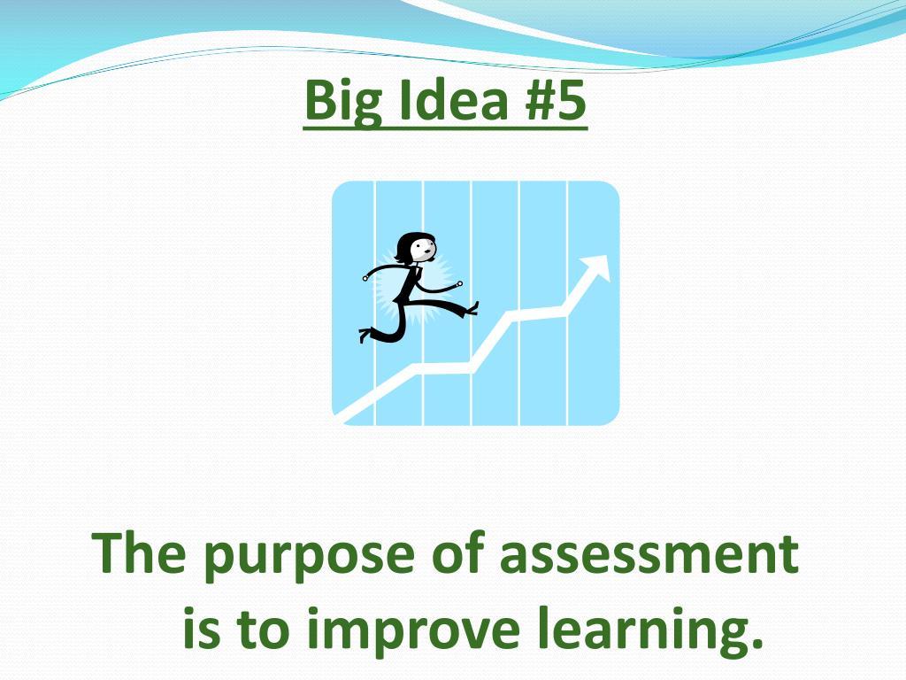 Big Idea #5