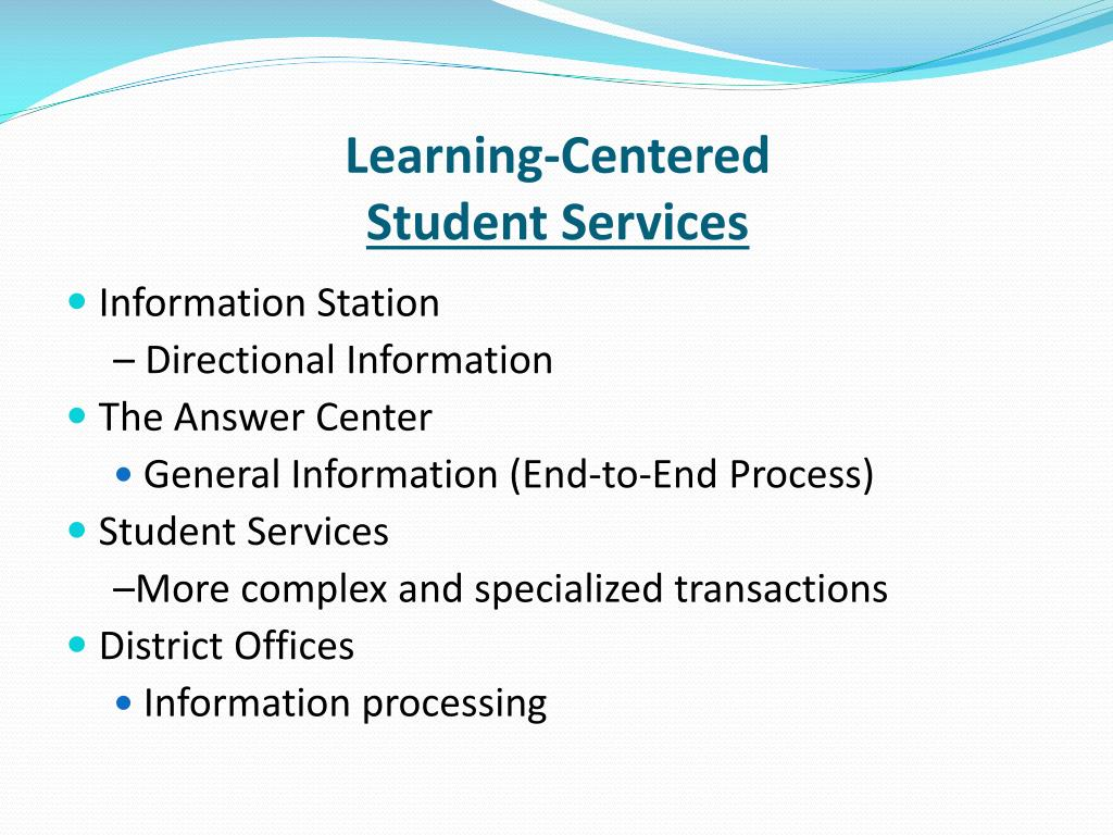 Learning-Centered