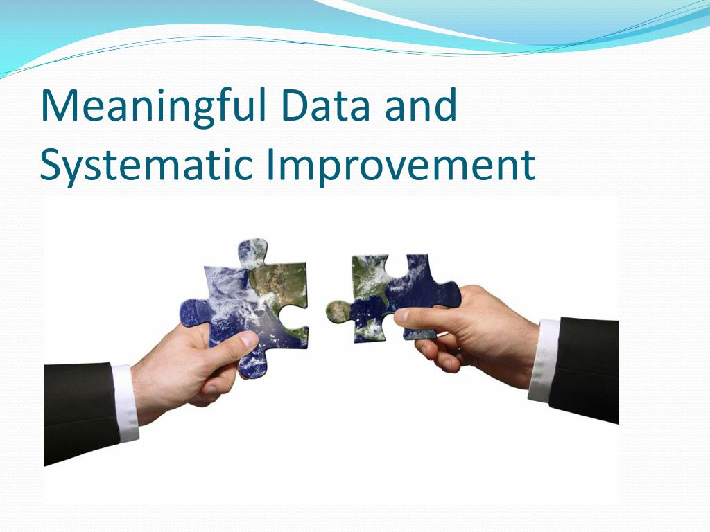 Meaningful Data and