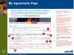 my agreements page